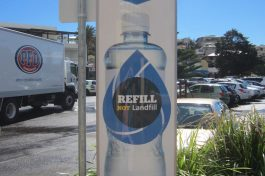 refill your plastic water bottle: brilliant! australia