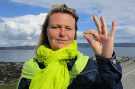 beachclean finds Gigha
