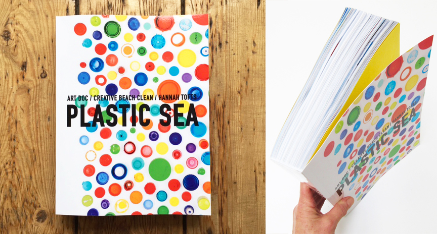 PLASTIC SEA / ART DOC / CREATIVE BEACH CLEAN new 652 page