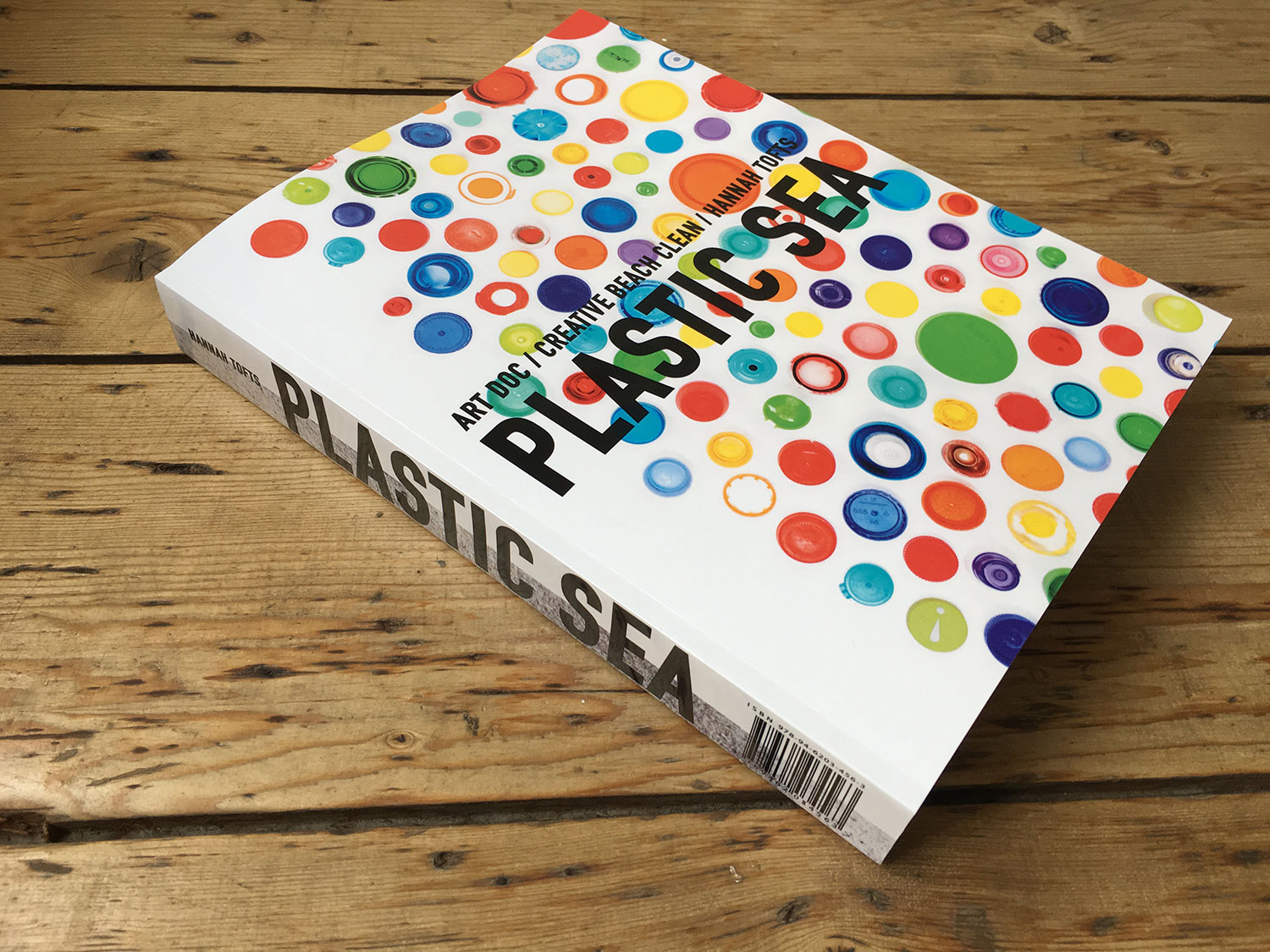 PLASTIC SEA / ART DOC / CREATIVE BEACH CLEAN new 652 page book!
