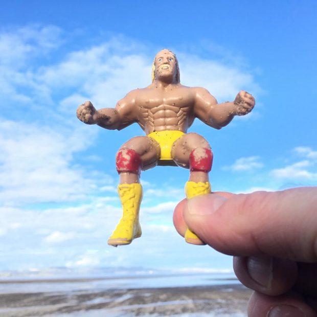 Shannon's sunday pickitup beach find. East Coast Scotland
