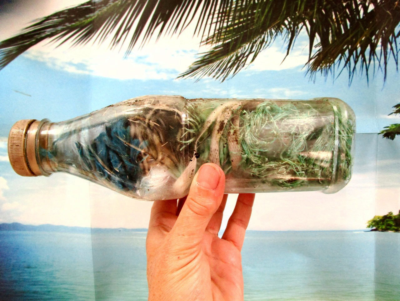 a message in a bottle?