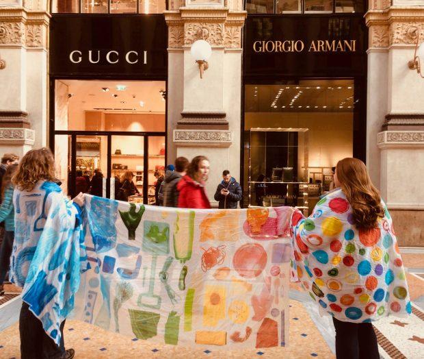 Letsgotothebeach on tour... in the fashion street Milan!